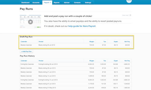 End of Year Payroll with Xero